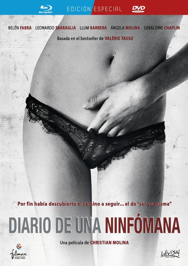 diario de una ninfómana - blu ray+dvd --8421394409569