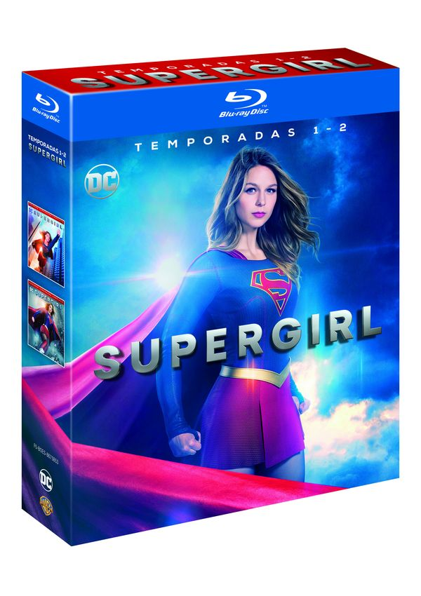 supergirl - blu ray - temporada 1-2-8420266014535