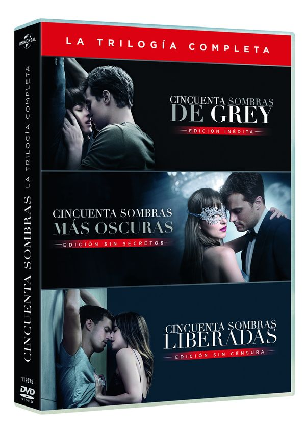 cincuenta sombras pack 1-3 - dvd --8414533112970