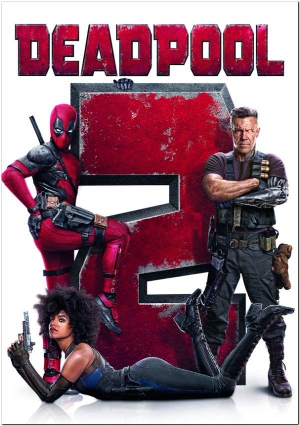 deadpool 2 - dvd --8420266016973