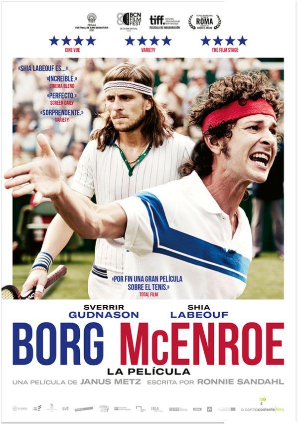 borg/mcenroe. la película - dvd --8436535547451