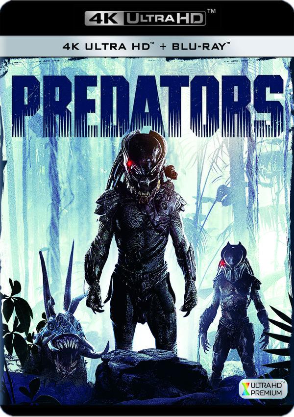 predators - 4k uhd + blu ray --8420266017635