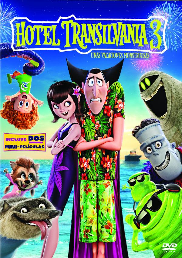 hotel transilvania 3: unas vacaciones monstruosas - dvd --8414533115988
