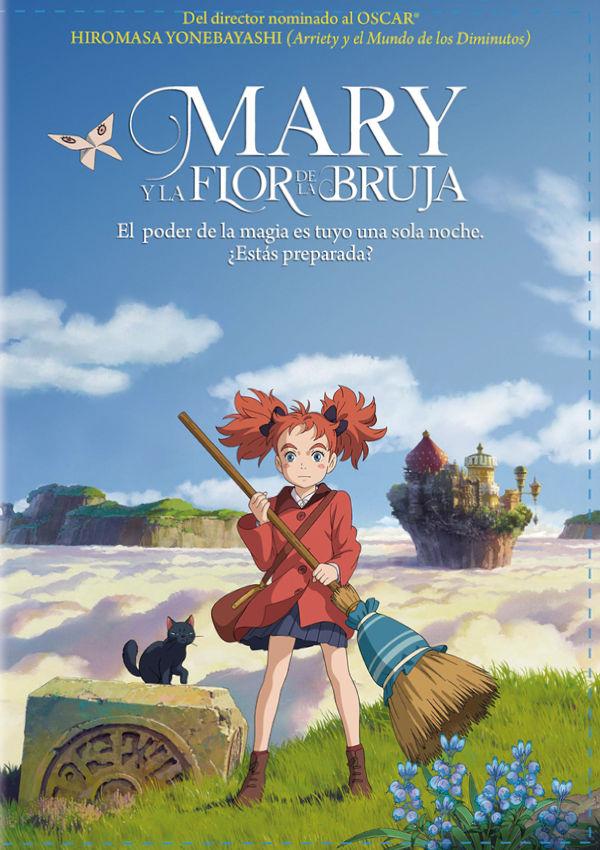 mary y la flor de la bruja - dvd --8420266015983