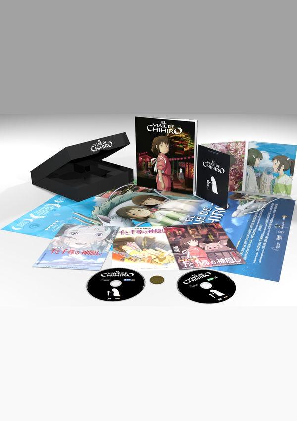 el viaje de chihiro - blu ray - ed.special box-8414533118996