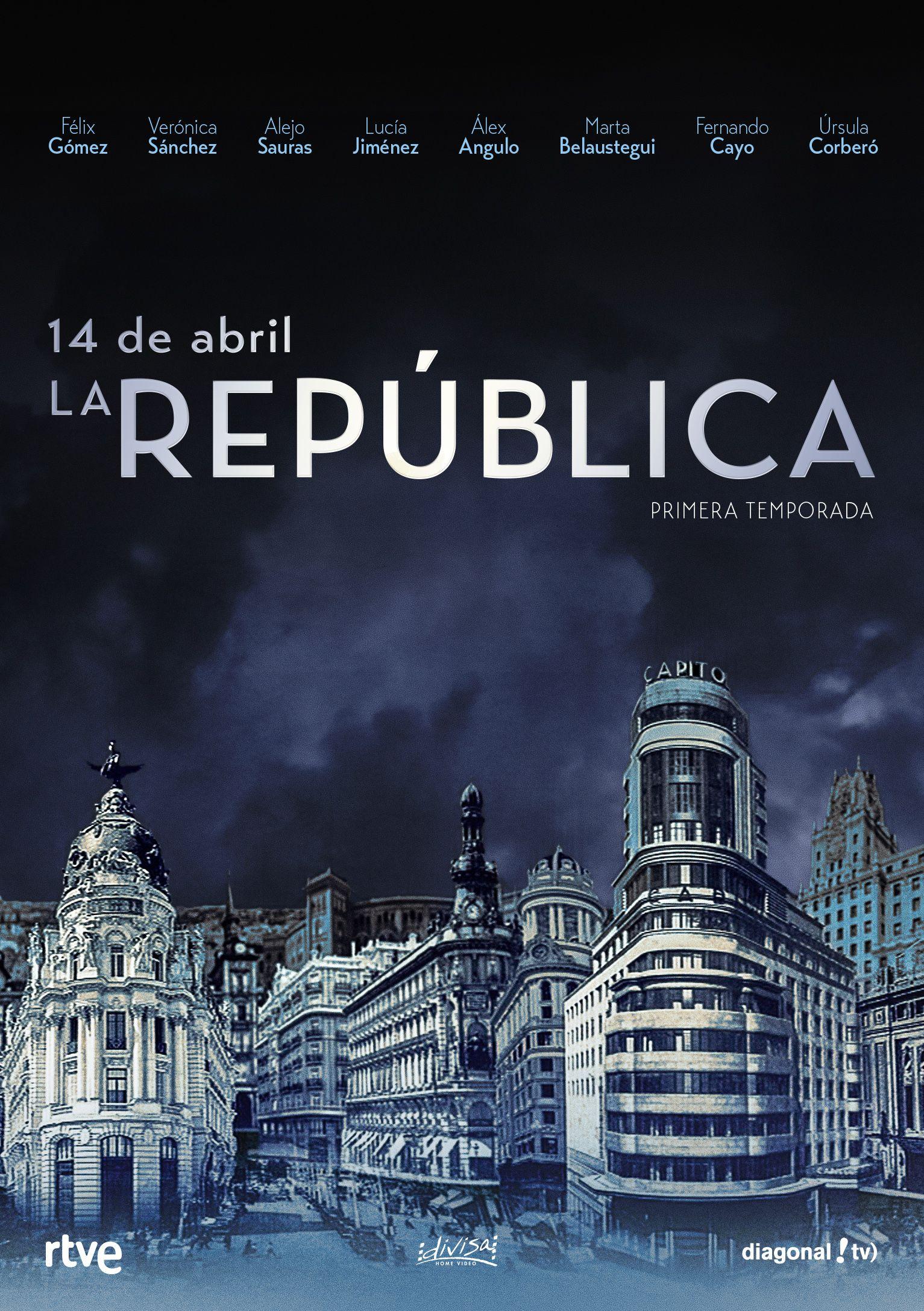 14 de abril, la república - dvd - temporada 1-8421394552500