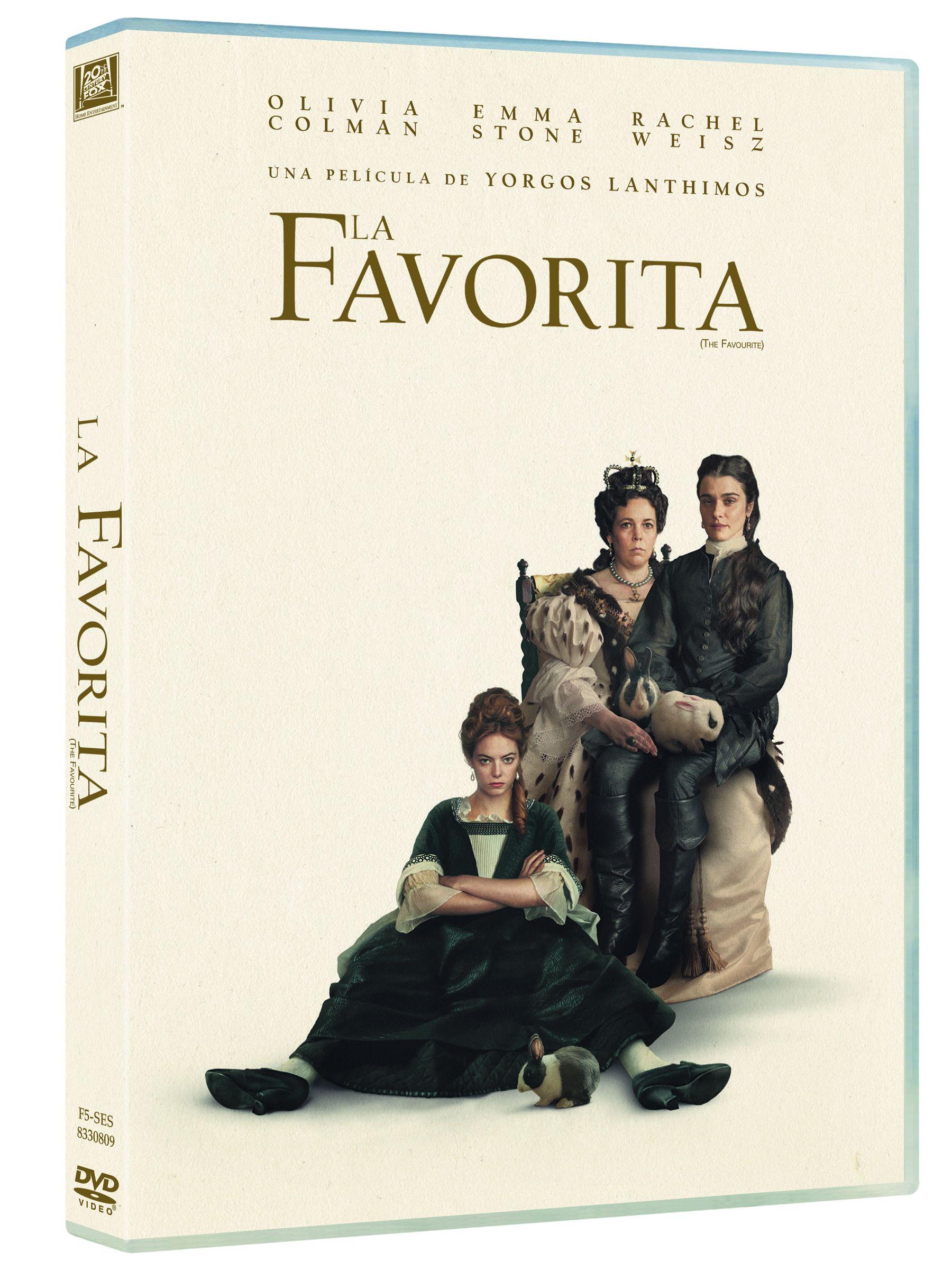 la favorita - dvd --8420266022455