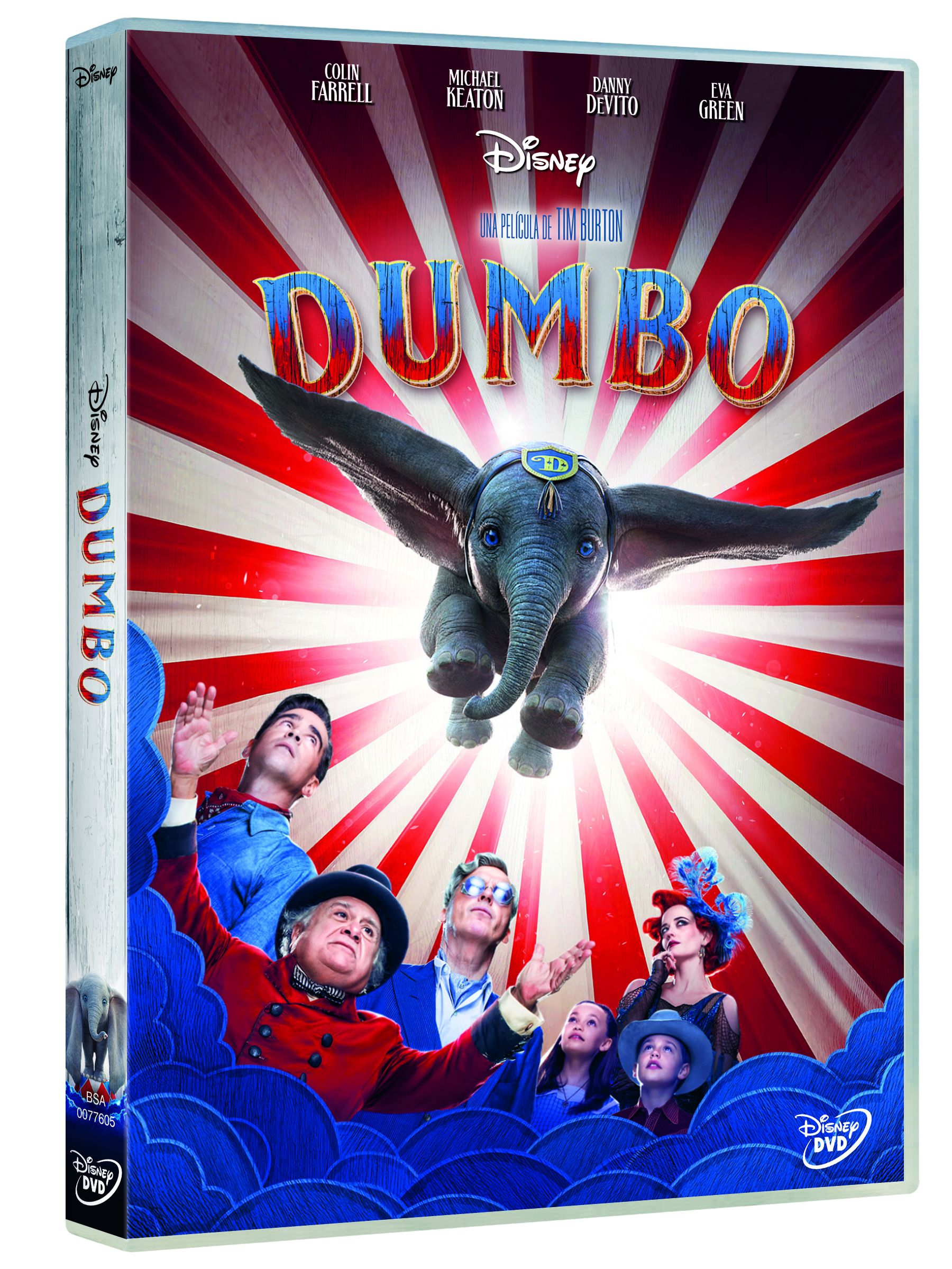 dumbo (live action) - dvd --8717418545963